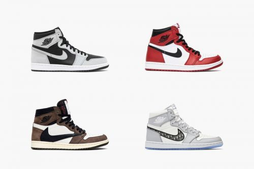 "With the Release of Air Jordan 1 Retro High OG ""Shadow 2.0"" GOAT Rounds up the Most Hype Air Jordan 1s"