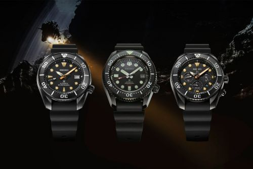 "Seiko Announces Three New ""Black Series"" Prospex Dive Watches"