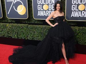 Kendall Jenner Makes A Surprise Appearance At The Golden Globes