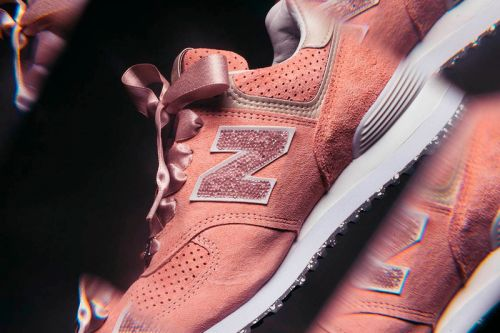New Balance Decks out the 574 in Swarovski Crystals