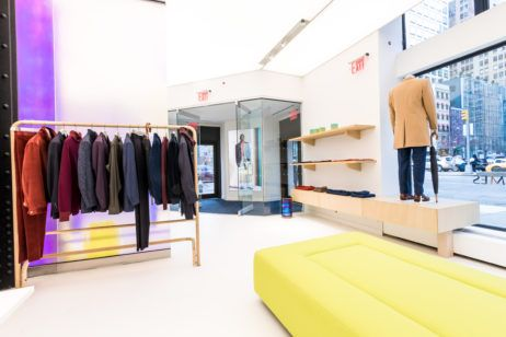 Richard James Opens First US Store in New York