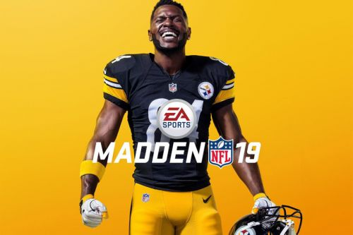 Pittsburgh Steelers's Antonio Brown Covers 'Madden NFL 19's' Standard Edition