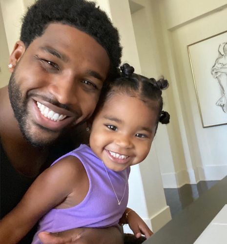 True and Tristan Thompson's Sweetest Photos Together Prove She Really Is His 'Twin'