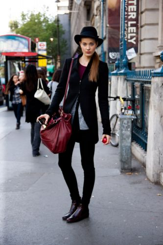 One word: Intense. This noir oxblood combination makes our