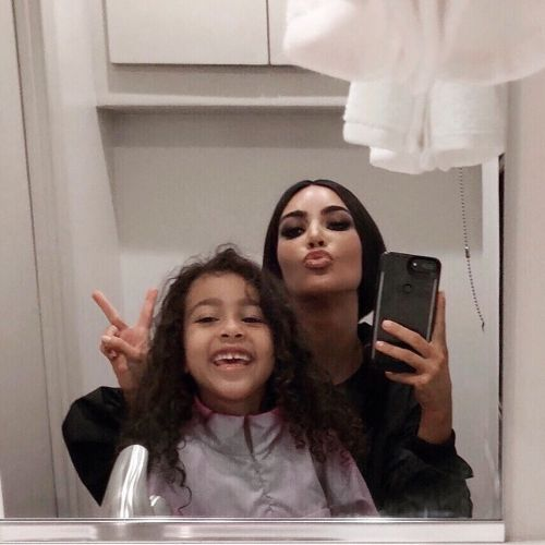 Kim Kardashian Appears in a Cute TikTok With Daughter North West: 'Cool Mom'