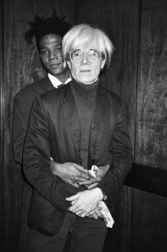 Andy Warhol and Jean Michel Basquiat's Friendship, In Pictures