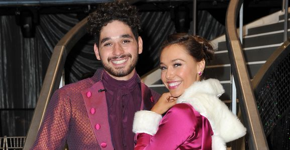 'DWTS' Pro Alan Bersten Admits He's 'Falling For' His Partner Alexis Ren Before Sharing An Intimate Kiss