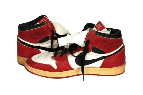 Michael Jordan's Game-Worn and Signed Air Jordan 1 Post Injury PE Is up for Auction