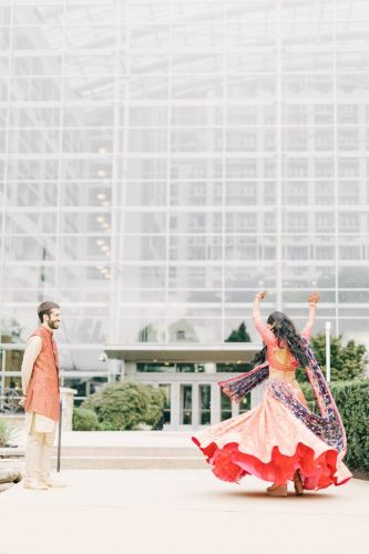 Priyata + Jesse Gaylord National Harbor Wedding Photography by Joseph Lin Photography