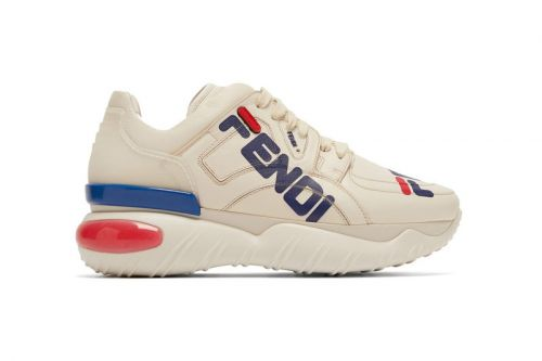 "Fendi x FILA's ""Mania"" Collection Drops Chunky Sneaker With Large Logos"