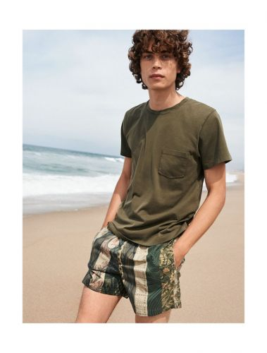 Life's a Beach: Lucas Bin Goes Casual in Summer Style for YOOX