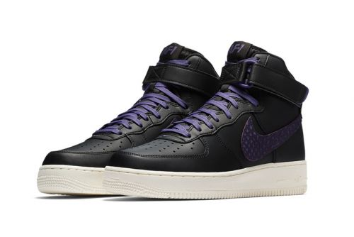 Nike Unveils Air Force One With Purple Croc-Skin Big Swoosh