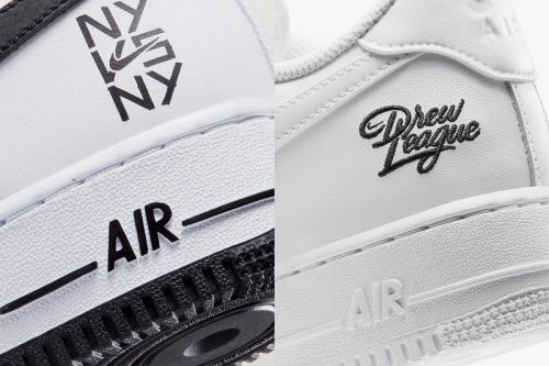 """Nike Air Force 1 """"NY vs NY"""" and """"Drew League"""" Celebrate Summertime Hoops"""