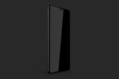BlackBerry's Ghost Smartphone Will Feature a Bezel-Less Display