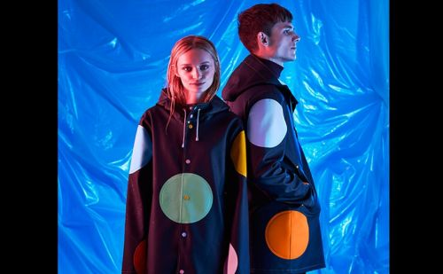 Happy Socks and Stutterheim create Dream Raincoat