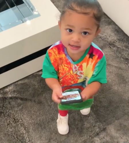 Stormi Webster Totally Shades Kylie Jenner's New Bop 'Rise and Shine': 'Daddy Sing!'