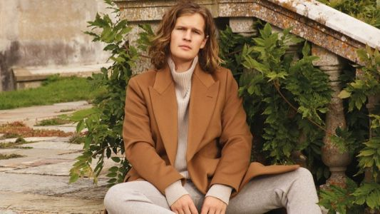 Lord March Dons The Row Menswear for Mr Porter