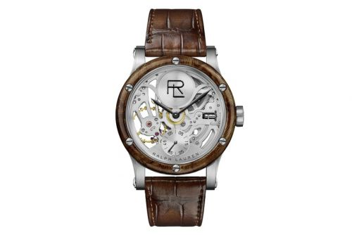 Ralph Lauren Unveils Steel Automotive Skeleton Watch