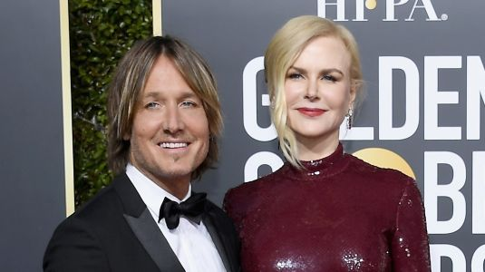Nicole Kidman And Keith Urban Heat Up The 2019 Golden Globes Red Carpet