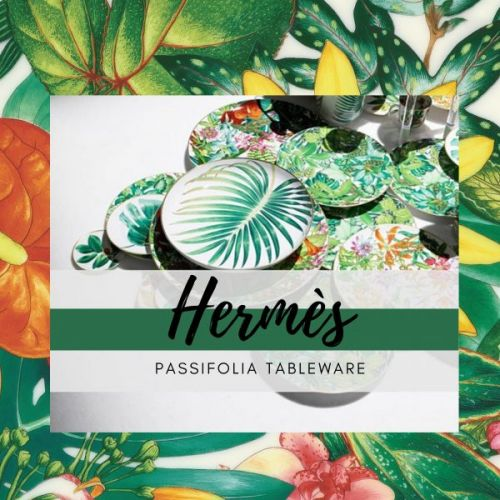 Hermès Passifolia Tableware