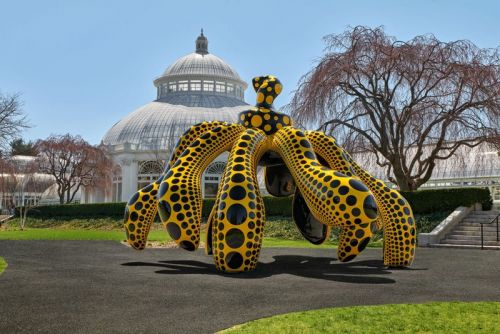 Yayoi Kusama's Whimsical 'Cosmic Nature' Exhibition Opens at the New York Botanical Garden