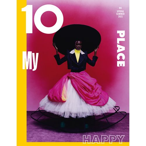 Caren Jepkemei Wears Harris Reed on the First Cover of 10 Magazine Issue 66 - Read the Editor's Letter