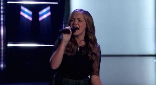 'The Voice' Contestant Sarah Grace Is Only 15 Years Old, But She's Already A Frontrunner