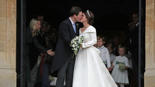 Princess Eugenie Was a Fairytale Come to Life on Her Wedding Day in Peter Pilotto