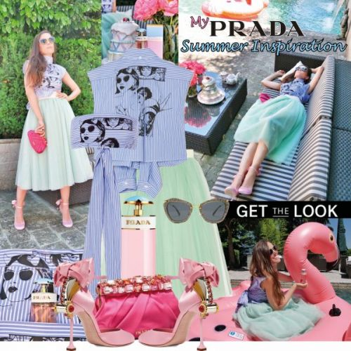 My Look: My Prada Summer Inspiration