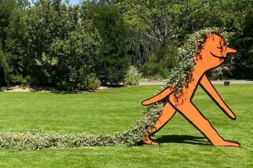 Jean Jullien's Playful Sculptures Are Taking Over Paris' Jardin des Plantes