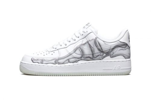 """Take an Official Look at Nike's Halloween-Themed Air Force 1 """"Skeleton"""""""