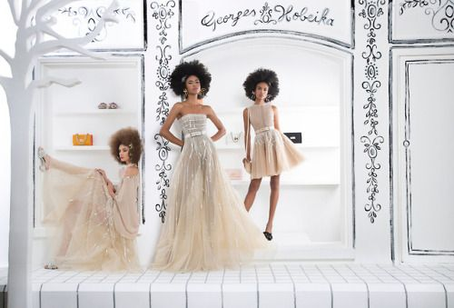 This is Uptown Funk - GEORGES HOBEIKA Ready-To-Wear Spring