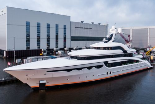 Abeking & Rasmussen Delivers 68m Megayacht Soaring On Time