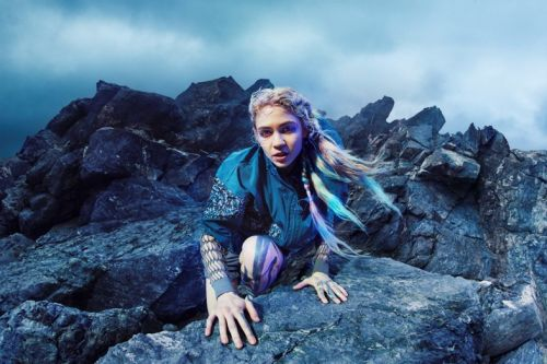Grimes shares her workout routine, includes sword-fighting and screaming