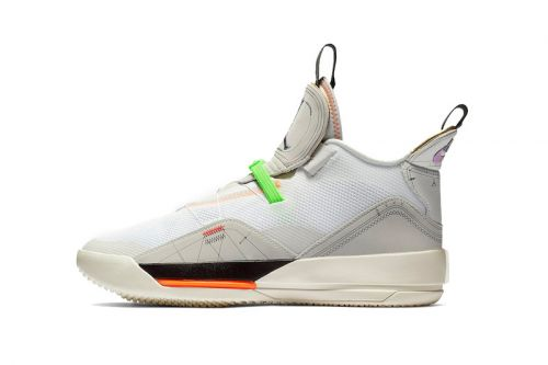 """Air Jordan 33 Adds a """"Vast Grey"""" Edition to Its Spring 2019 Offerings"""