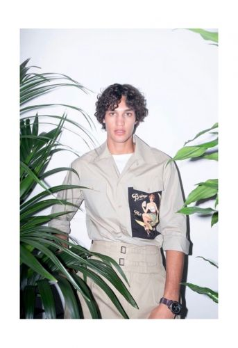 Francisco is Safari-Ready in Dolce & Gabbana for GQ Brasil