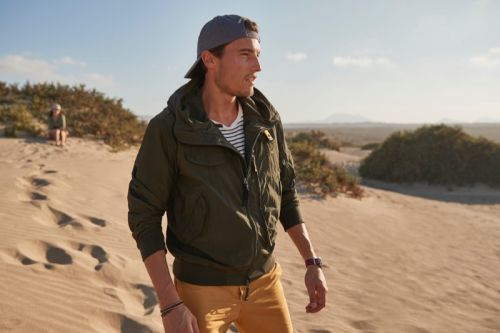 Yannick Hansen Embraces the Spirit of Adventure with Parajumpers
