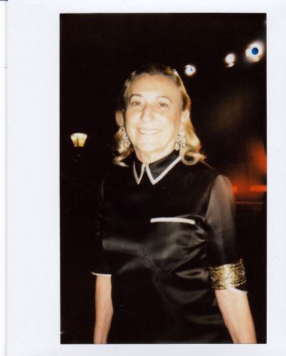 See polaroids from behind-the-scenes at last night's Fashion Awards