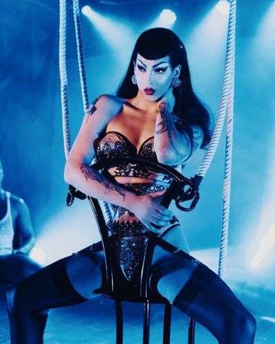 Violet Chachki is collaborator and muse for new fragrance Dirty Violet