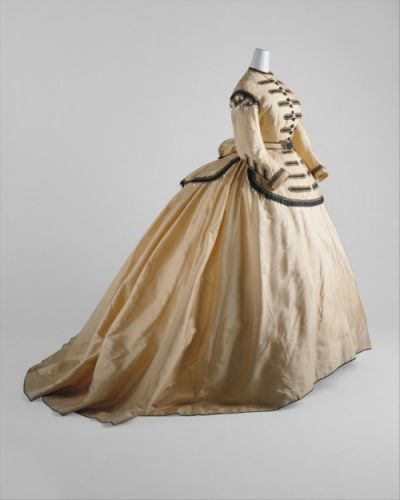 Fashionsfromhistory: Dress 1860-1865 The MET
