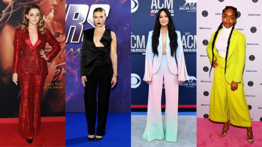 The Best-Dressed Celebrities Made an Impressive Case For Pantsuits This Week