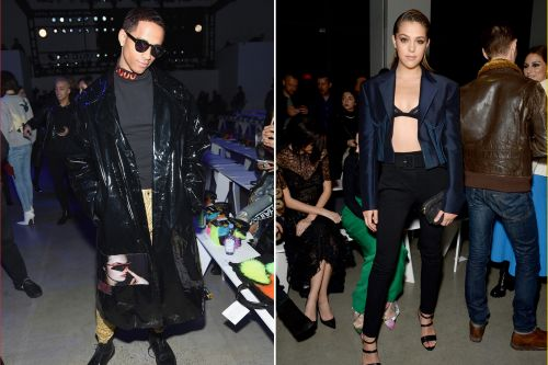 Celeb spawn have taken over fashion week