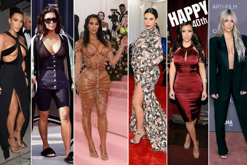 Kim Kardashian turns 40: Her outrageous style evolution