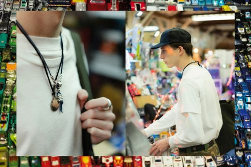 MAPLE Hits up Vancouver's Iconic Flea Market for New Spring/Summer 2018 Editorial