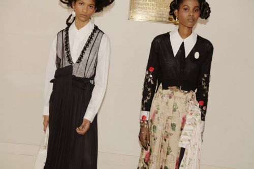 """A Feminine Strength"": See Simone Rocha's Sumptuous New Collection"