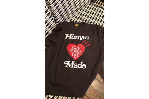 Here's a First Look of Girls Don't Cry x HUMAN MADE T-Shirt Collaboration