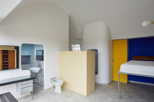 Take A Look Inside Le Corbusier's Personal Apartment in Paris