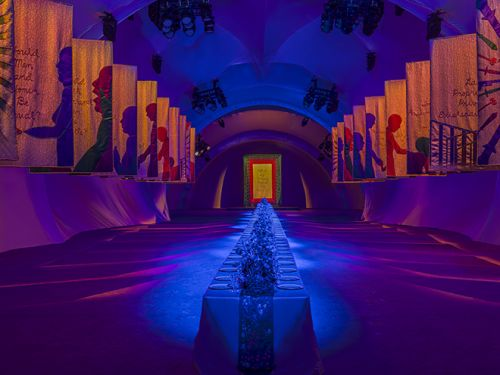 Dior Presents The Female Divine in Collaboration with Judy Chicago