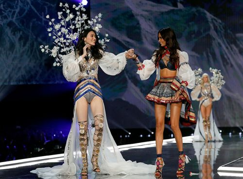 Wait, Was the Best Look at VS Fashion Show Actually Women Supporting Other Women?