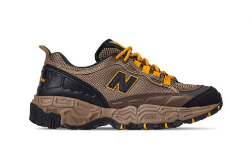 "The New Balance 801 Receives a Trail-Ready ""Brown/Yellow"" Makeover"